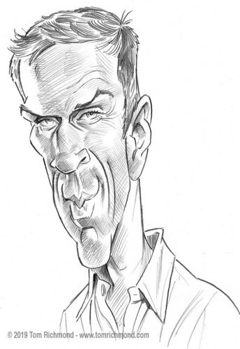 Sketch o'the Week- Damian Lewis!