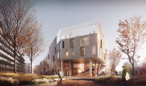 C.F. Møller Wins Competition for Active-Learning School in Copenhagen