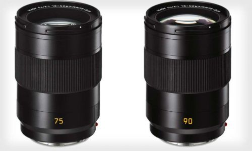 Leica Unveils 75mm f/2 and 90mm f/2 Lenses for the SL System