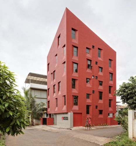 Stacked Student Housing / Thirdspace Architecture Studio