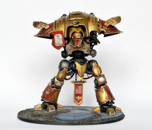 WIP: Imperial Knight Legio Custodes