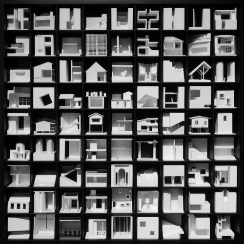 Over 30 Architectural Projects Represented In One 3D Object