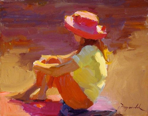 Simple Steps to Outdoor Figurative Painting in Color