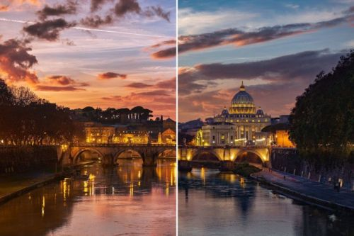 Canon Shares Composite Photo Made with a Fujifilm Camera Without Credit