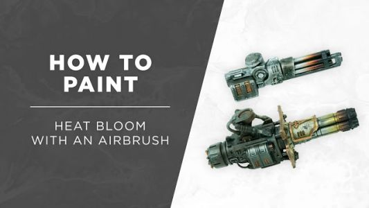 Tutorial: How to paint Heat Bloom Effects with an Airbrush by Silvernome