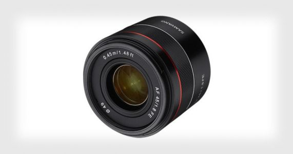 Samyang Unveils the AF 45mm f/1.8 for Sony FE
