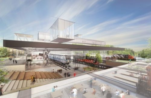 Diller Scofidio + Renfro to Design New Hungarian Museum of Transport