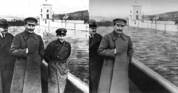 Fake Views: The Good, the Bad, and the Ugly of Soviet Photoshopping