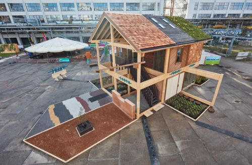 At Dutch Design Week 2021 A Building Made of Biobased Materials Illustrates The Possibilities of Circular Design