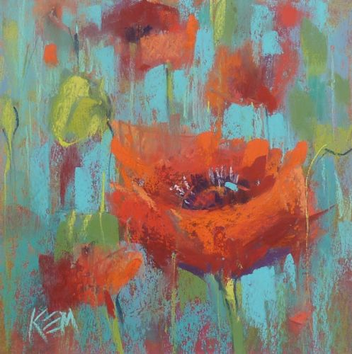 A Few Tips for Painting Poppies