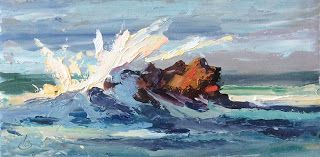 "SEASCAPE ""LIQUID THUNDER"" by TOM BROWN"