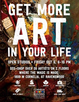 Oct 6 Cornelia Arts Bldg. Open House