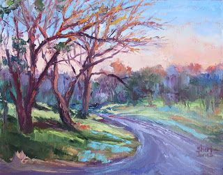 Highlights and Low Lights, New Contemporary Landscape Painting by Sheri Jones