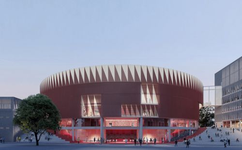 CHYBIK + KRISTOF Wins Competition to Design the Jihlava Multipurpose Arena in the Czech Republic