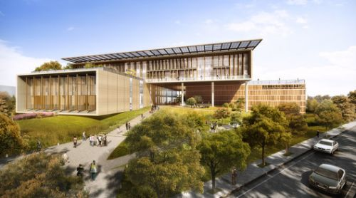 Carlo Ratti and BAF Win Taiwan National Library Competition