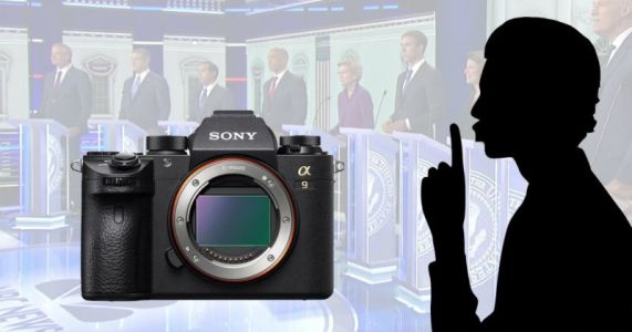 Silent Sony a9 a 'Great Advantage' for Photographer at Democratic Debate
