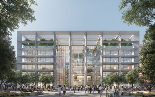 Foster + Partners Designs ICÔNE, a New Office Complex in Belval, Luxembourg