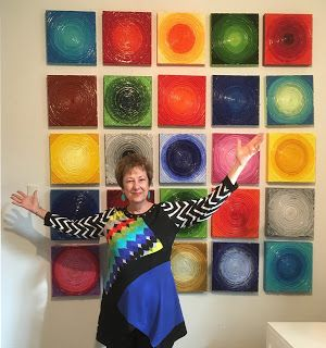 Circles, Cycles and Color Show Extended through December