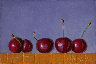 Cherries daily painting a day