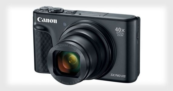 Canon's New PowerShot SX740 HS Has a 40x Optical Zoom and 4K Video