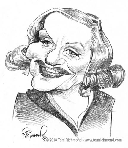 Sketch o'the Week- Tallulah Bankhead !