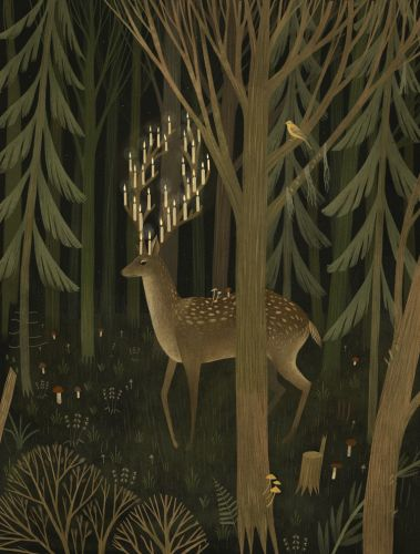 Lovingly Animated Woodland Scenes by Alexandra Dvornikova