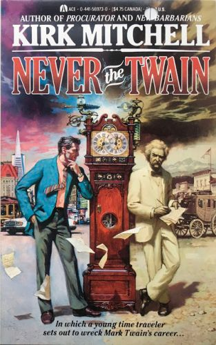 Cover for 'Never the Twain'