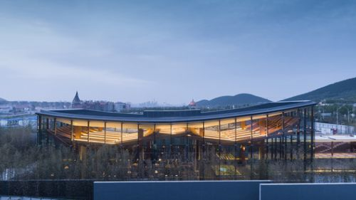 Vanke Future Town Pavillion in Xuzhou / Continuation Studio