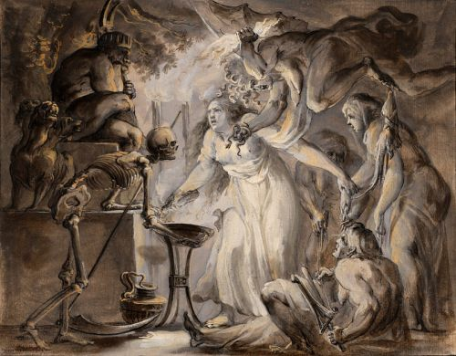 Giovanni David - A Nightmare, 1775-80
