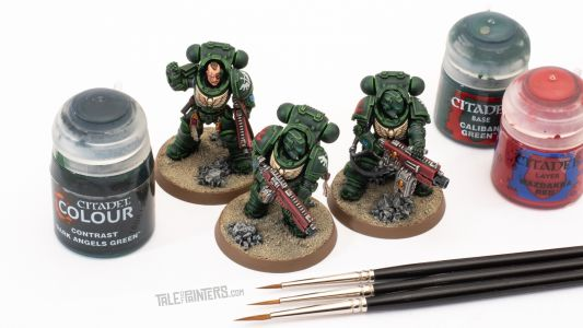 Tutorial: How to paint Dark Angels Heavy Intercessors