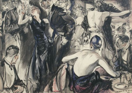 Some Henry Raleigh 1920s Party Scenes