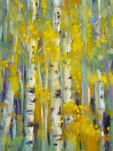 Five Tips for Painting Yellow Trees