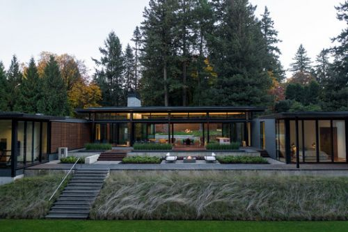 Glass Link House / Scott | Edwards Architects
