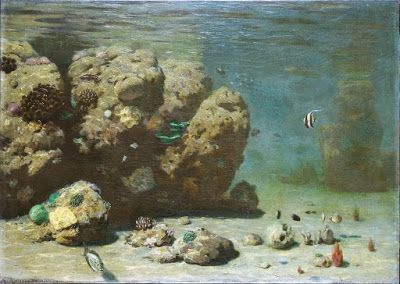 First Paintings of Underwater Landscapes