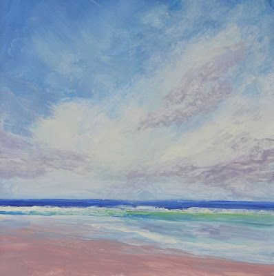 Beach Days, Florida Paintings by Amy Whitehouse