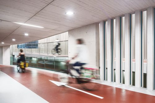 The World's Largest Bicycle Garage Opens in Utrecht