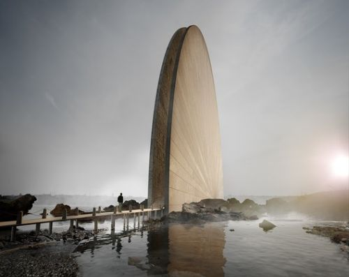 A Skyscraper in Costa Rica and Coastal Monuments: 10 Unbuilt Projects Submitted to ArchDaily