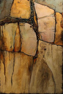 "Geological Abstract Fine Art Print ""Wood Rock"" © Carol Nelson Fine Art"