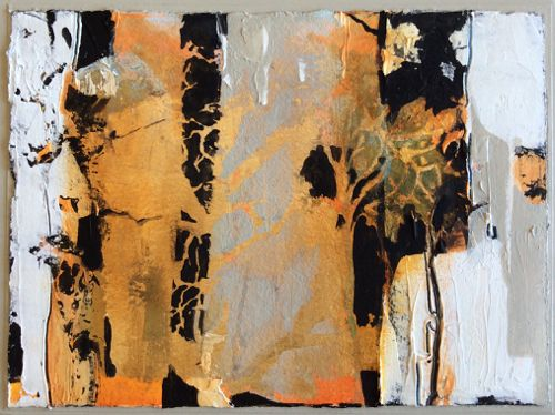 """Abstract Mixed Media Painting """"Syncopated Faith"""" by Intuitive Artist Joan Fullerton"""