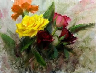 Simple Bouquet by artist Pat Meyer