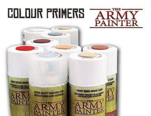 Review: The Army Painter Colour Primers and Anti Shine Matt Varnish