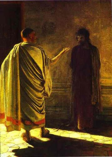 Holy Week: Tuesday - Before Pilate