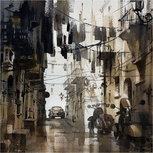 Thomas W Schaller - Watercolor Artist Thomas W Schaller is an