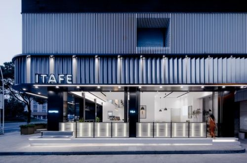 ITAFE Coffee & Drinking Store / daylab studio