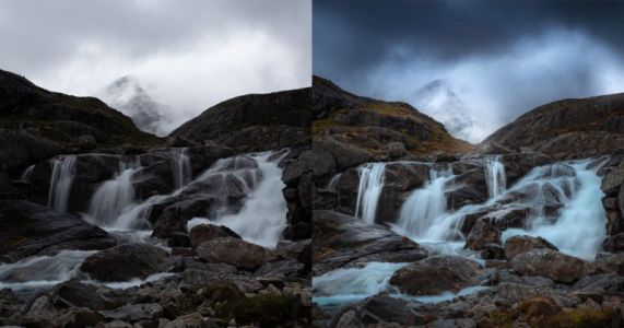 Global and Local Luminance Masking in Lightroom