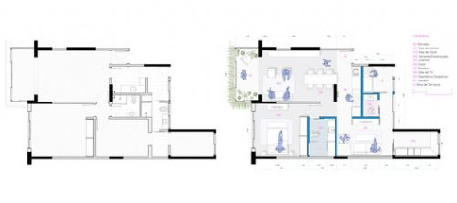 Before and After Renovations: Changes in Architectural Plans