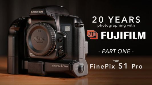20 Years with Fujifilm: A Look Back at the FinePix S1 Pro