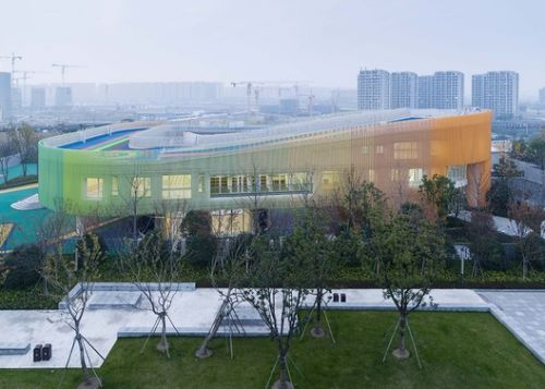 Yangliu County Community Primary School and Kindergarten / gad