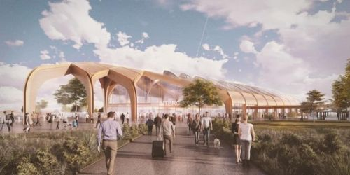 Designs by Grimshaw and Arup Revealed for the UK's High Speed Rail Stations