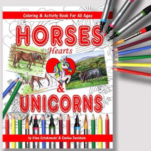 Activity Book - Horses Hearts And Unicorn - Fun For All